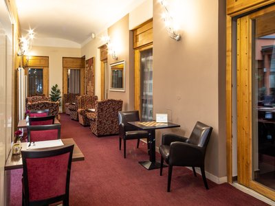 EA Hotel Embassy Prague**** - chodba
