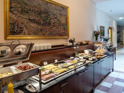 EA Hotel Embassy Prague**** - breakfast room
