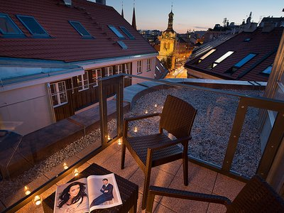 EA Hotel Embassy Prague**** - double room with balcony